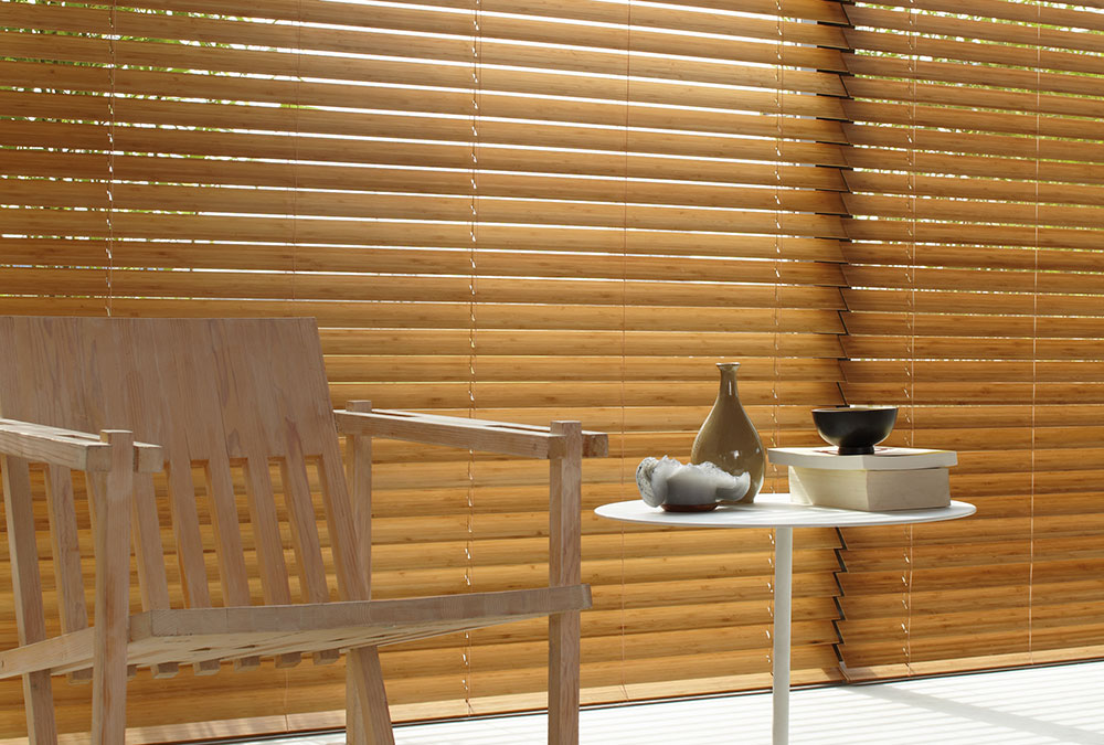 Bois Luxaflex naturel BAMBOU,LUXURY,WOOD,VENITIAN,VENEZIANE,